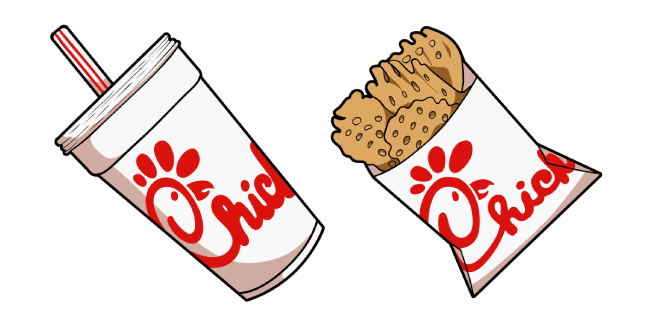 Chick-fil-A Soda Drink and Waffle Potato Fries