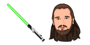 Курсор Star Wars Qui-Gon Jinn Lightsaber