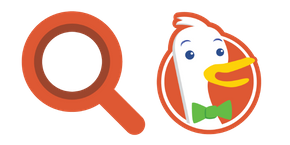 DuckDuckGo Curseur