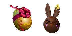 Fortnite Bun Bun Skin Choco Shell Back Bling Cursor
