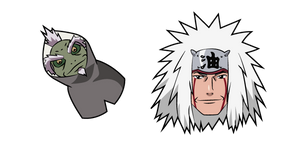 Naruto Jiraiya and Fukasaku Cursor