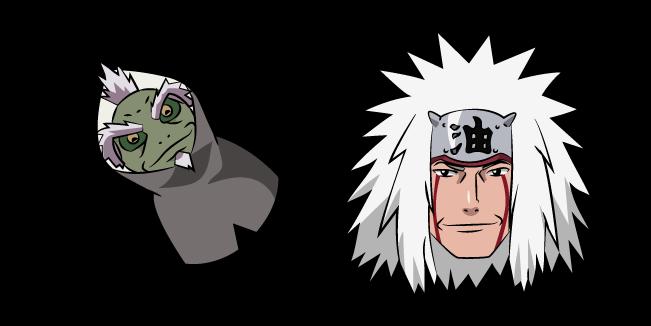 Naruto Jiraiya and Fukasaku