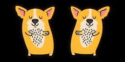 Cute Dancing Corgi Dog Cursor
