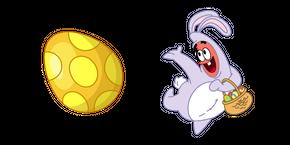 SpongeBob Easter Bunny Patrick Star Cursor