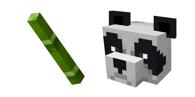 Minecraft Bamboo and Panda