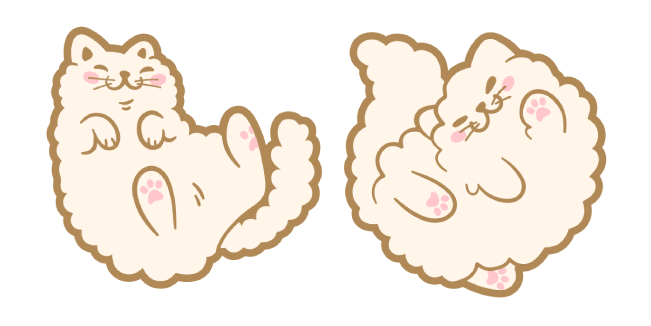 Cute Beige Cat