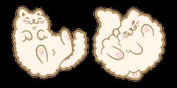 Cute Beige Cat Curseur