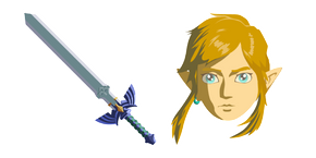 The Legend of Zelda Link Master Sword Cursor