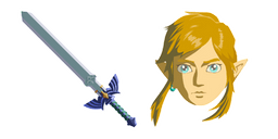 The Legend of Zelda Link Master Sword Curseur