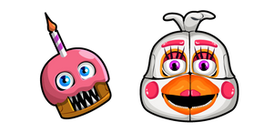 Five Nights at Freddy's Funtime Chica Cursor