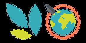 Курсор Ecosia