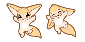 Cute Fennec Fox Cursor