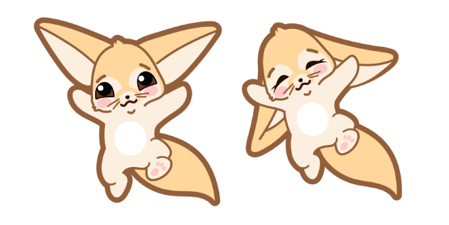 Cute Fennec Fox