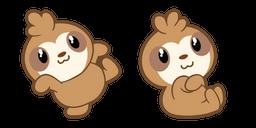Cute Sloth Cursor