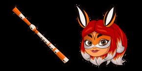 Курсор Miraculous Ladybug Rena Rouge