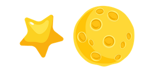Star and Moon Cursor