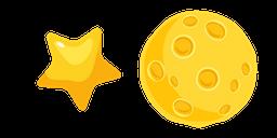 Star and Moon Curseur