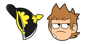 Eddsworld Tord and Pickelhaube Helmet Cursor