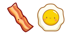 Cute Bacon and Egg Curseur