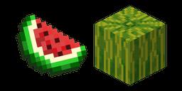 Minecraft Melon Slice and Melon Cursor