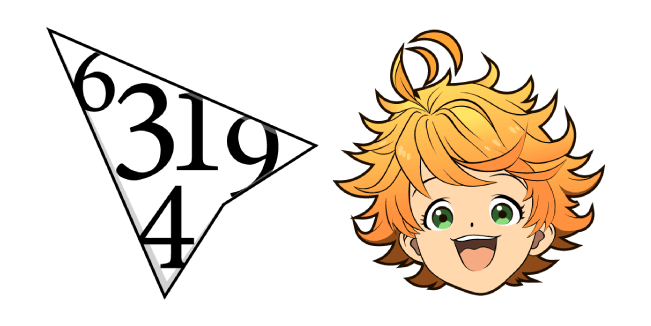 The Promised Neverland Emma Cursor Custom Cursor Browser Extension
