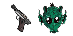 Star Wars Greedo DT-12 Blaster Pistol