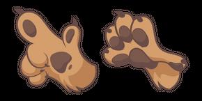 Dog Paw Cursor