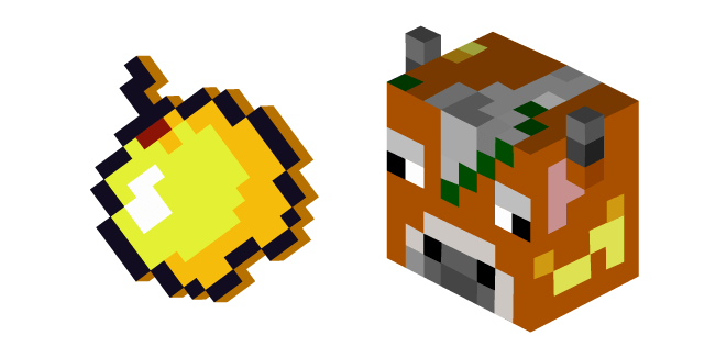Minecraft Golden Apple Cow