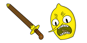 Adventure Time Earl of Lemongrab Curseur
