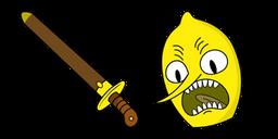 Adventure Time Earl of Lemongrab Curseur