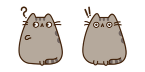 Pop-Eyed Pusheen Cursor