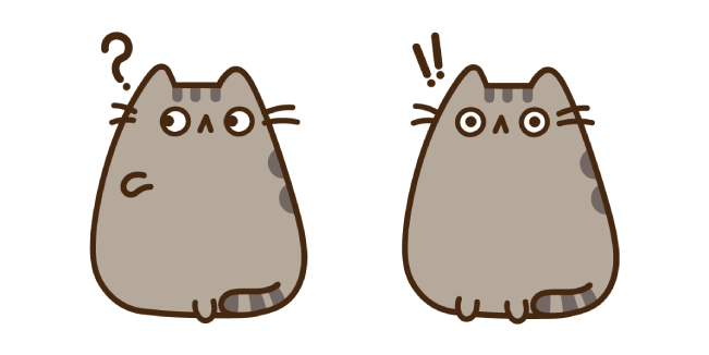Pop-Eyed Pusheen