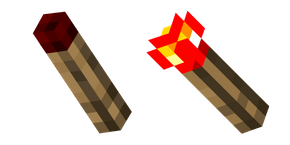 Minecraft Redstone Torch Curseur