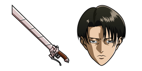 Attack on Titan Levi Ackerman Cursor
