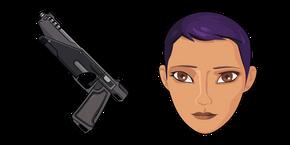 Star Wars Sabine Wren WESTAR-35 Blaster Pistol Cursor