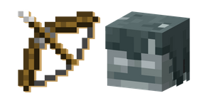 Minecraft Bow and Stray Cursor