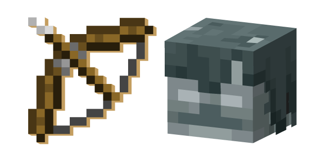 Minecraft Bow and Stray