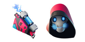 Курсор Fortnite Bonehead Skin Back Burner Back Bling