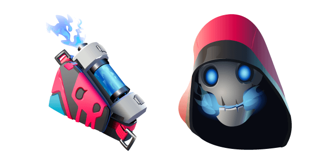 Fortnite Bonehead Skin Back Burner Back Bling