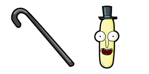 Rick and Morty Mr. Poopybutthole Cursor