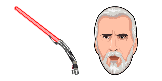 Star Wars Count Dooku Lightsaber
