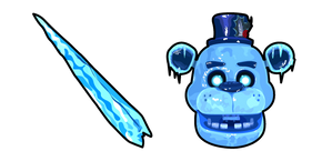 Five Nights at Freddy's Freddy Frostbear Icicle Cursor