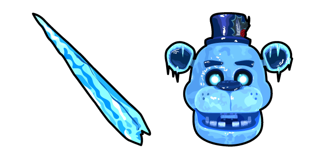Five Nights at Freddy's Freddy Frostbear Icicle