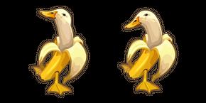 Banana Duck Meme Curseur
