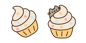 Pusheen and Cupcake Cursor