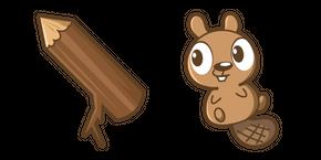 Cute Beaver Curseur