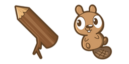 Cute Beaver Cursor