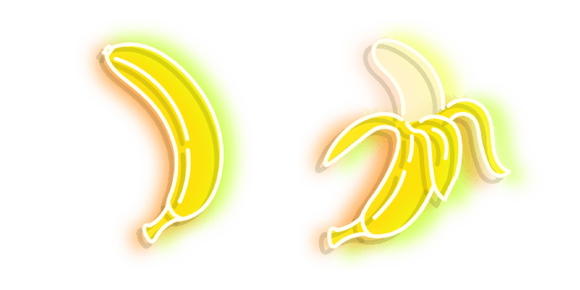 Yellow Banana Neon