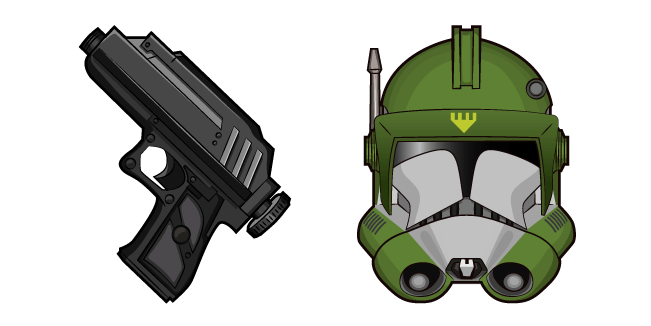 Star Wars Doom DC-17 Hand Blaster