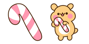 Cheek and Candy Cane Cursor